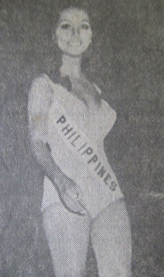 Bb Pilipinas Universe 1971: Vida Valentina Doria (MU 71' Photogenic) 16806714
