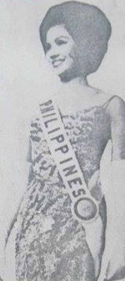 Binibining Pilipinas Universe 1966: Maria Clarinda Garces Soriano  (MU 66' Semifinalist) 16806912