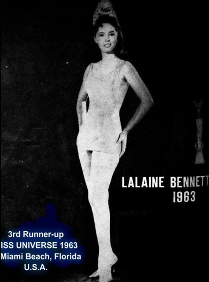 Miss Philippines Universe 1963: Lalaine Betia Bennett (MU 63' 3rd runner up) - Page 2 16807710