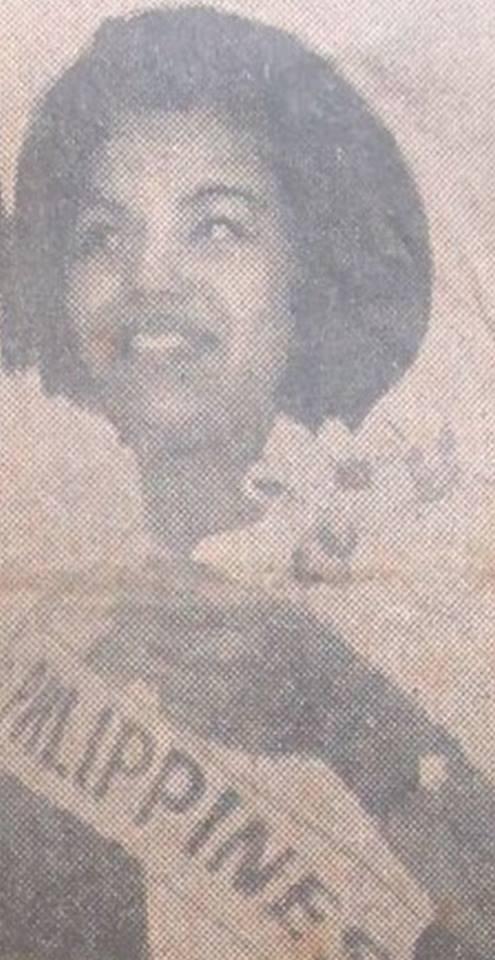 Binibining Pilipinas Universe 1966: Maria Clarinda Garces Soriano  (MU 66' Semifinalist) 16830613