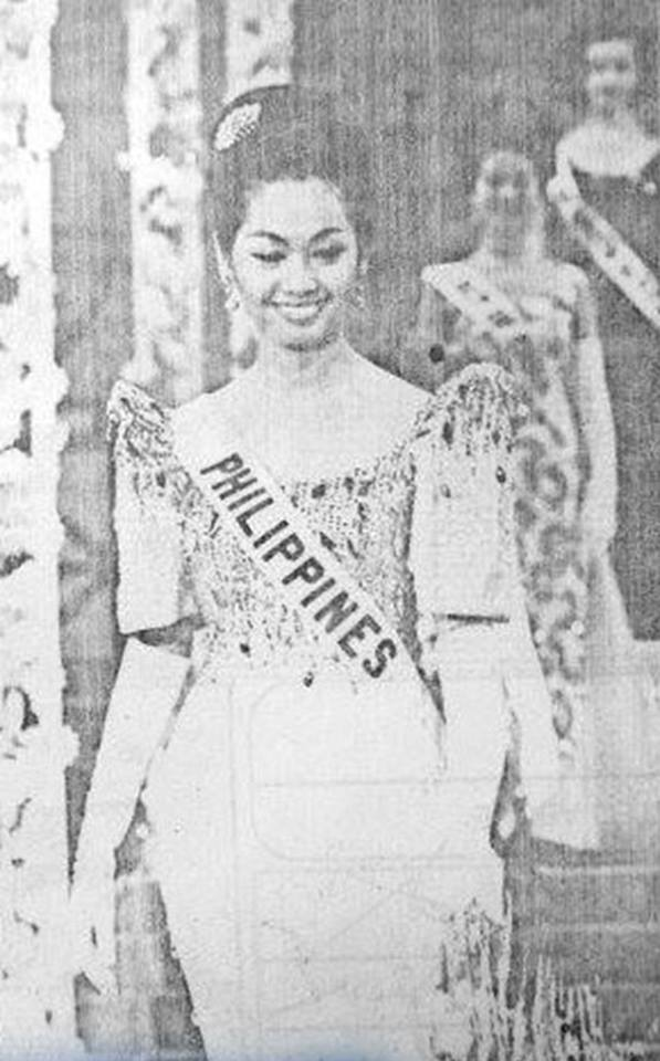 Binibining Pilipinas Universe 1964: Maria Myrna Sese Panlilio 16830912