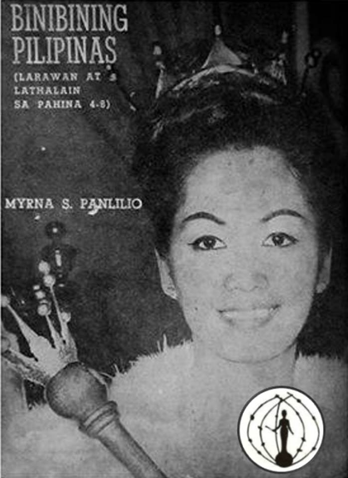 Binibining Pilipinas Universe 1964: Maria Myrna Sese Panlilio 16830913