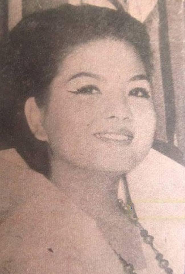 Binibining Pilipinas Universe 1966: Maria Clarinda Garces Soriano  (MU 66' Semifinalist) 16831115