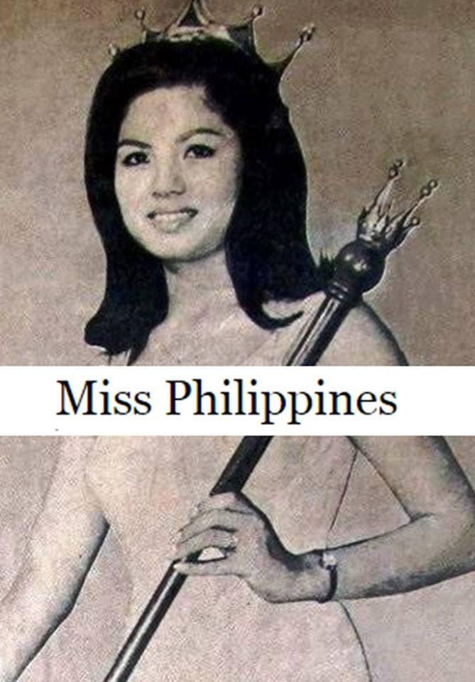 Binibining Pilipinas Universe 1966: Maria Clarinda Garces Soriano  (MU 66' Semifinalist) 16831116