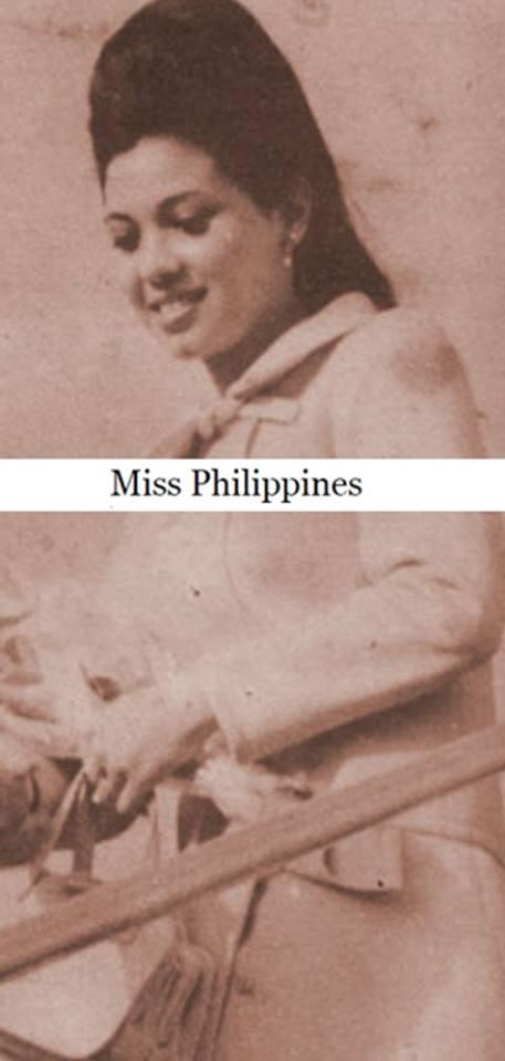 "Binibining Pilipinas Universe 1968: Rosario ""Charina"" Rosello Zaragoza 16831117"