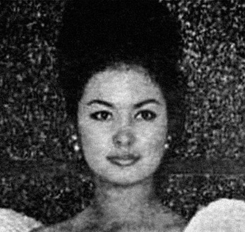 Miss Philippines Universe 1962: Josephine Brown Estrada 16831810