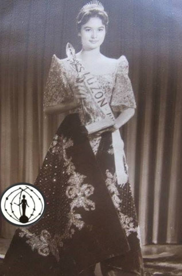 Miss Philippines Universe 1962: Josephine Brown Estrada 16832013