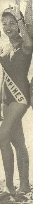 Binibining Pilipinas Universe 1966: Maria Clarinda Garces Soriano  (MU 66' Semifinalist) 16832014