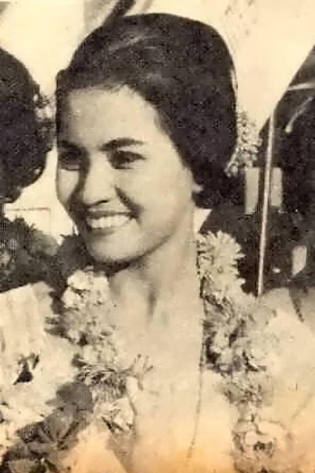"Binibining Pilipinas Universe 1968: Rosario ""Charina"" Rosello Zaragoza 16832015"