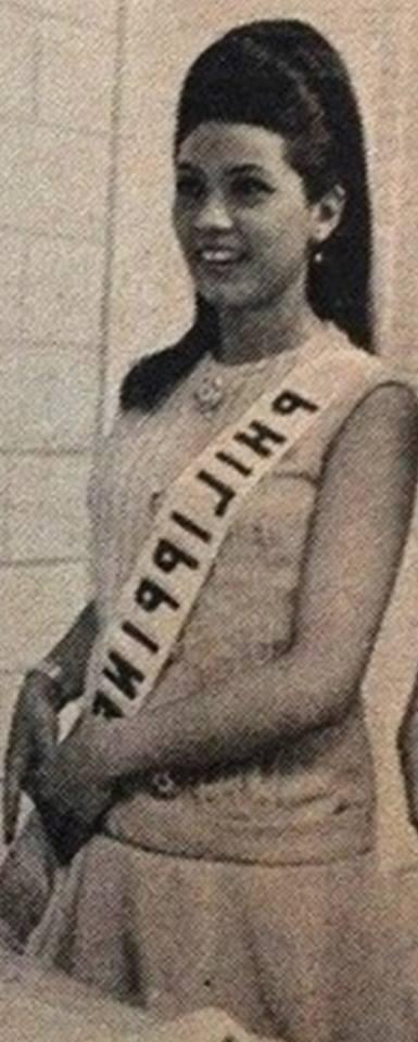 "Binibining Pilipinas Universe 1968: Rosario ""Charina"" Rosello Zaragoza 16832215"