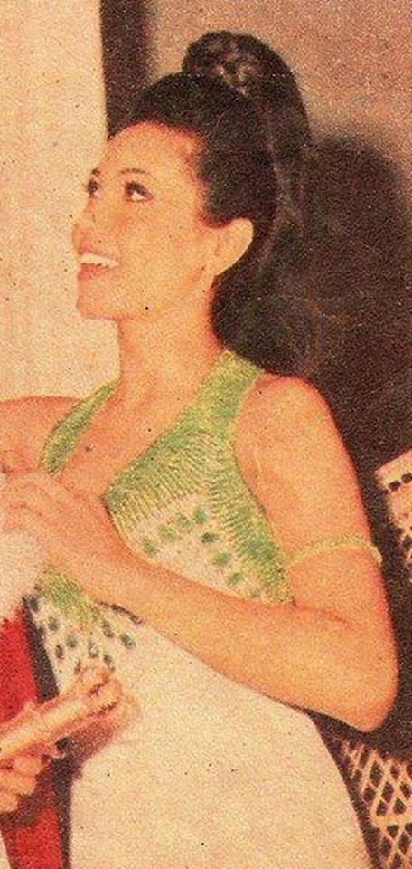 "Binibining Pilipinas Universe 1968: Rosario ""Charina"" Rosello Zaragoza 16864214"