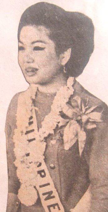 Binibining Pilipinas Universe 1966: Maria Clarinda Garces Soriano  (MU 66' Semifinalist) 16864613