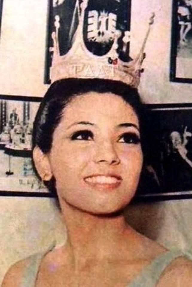 "Binibining Pilipinas Universe 1968: Rosario ""Charina"" Rosello Zaragoza 16864713"