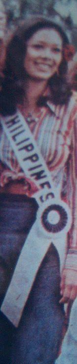 """Bb Pilipinas Universe 1975: Rosemarie """"Chiqui"""" Brosas (MU 75' 4th Runner Up) 16938412"""