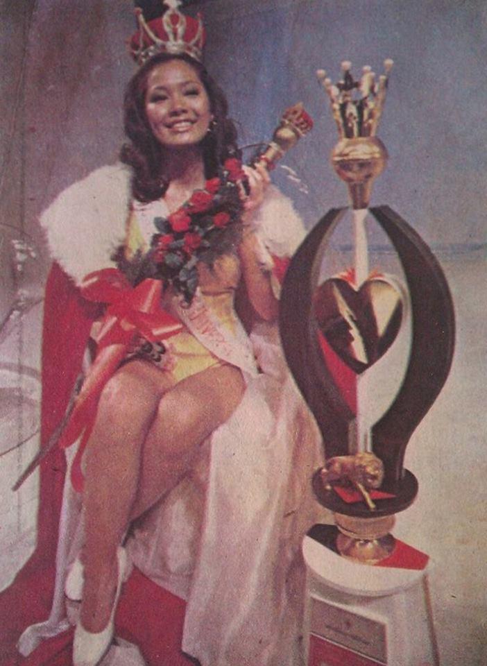 """Bb Pilipinas Universe 1975: Rosemarie """"Chiqui"""" Brosas (MU 75' 4th Runner Up) 16938711"""