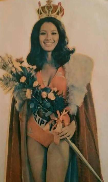"""Bb Pilipinas Universe 1975: Rosemarie """"Chiqui"""" Brosas (MU 75' 4th Runner Up) 16938914"""