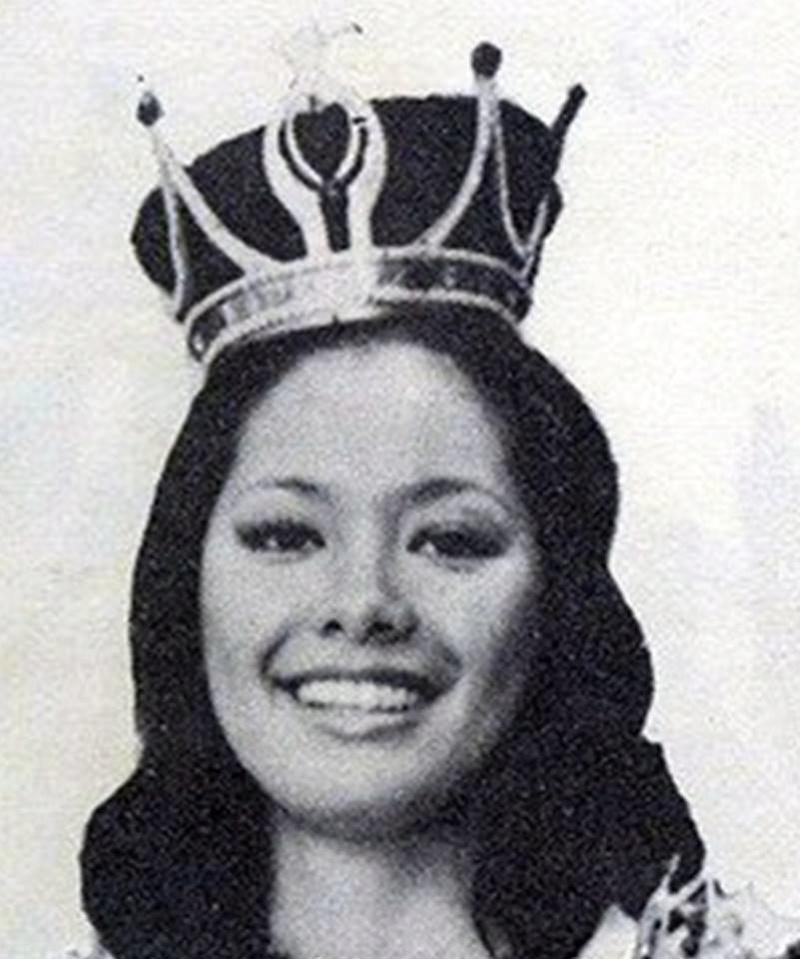 """Bb Pilipinas Universe 1975: Rosemarie """"Chiqui"""" Brosas (MU 75' 4th Runner Up) 16938915"""