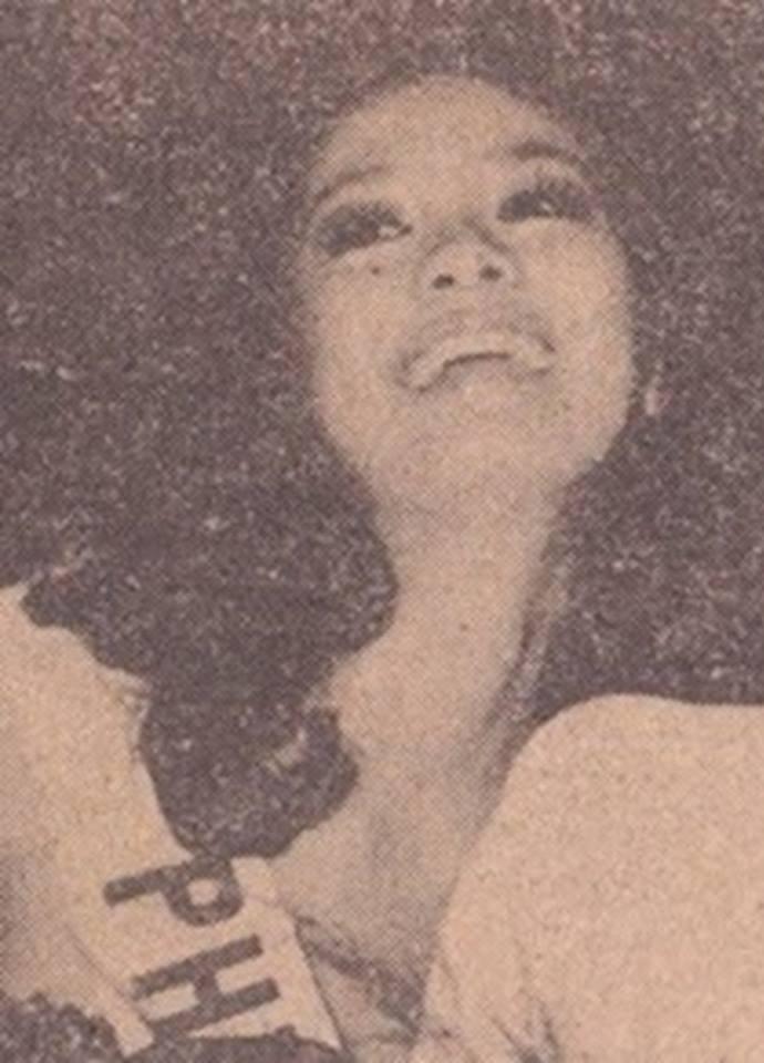 """Bb Pilipinas Universe 1975: Rosemarie """"Chiqui"""" Brosas (MU 75' 4th Runner Up) 16939113"""