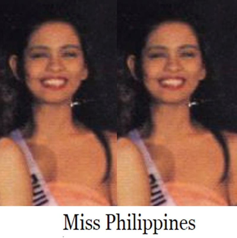 Bb Pilipinas - Universe 1990: Germelina Leah Padilla  16939116