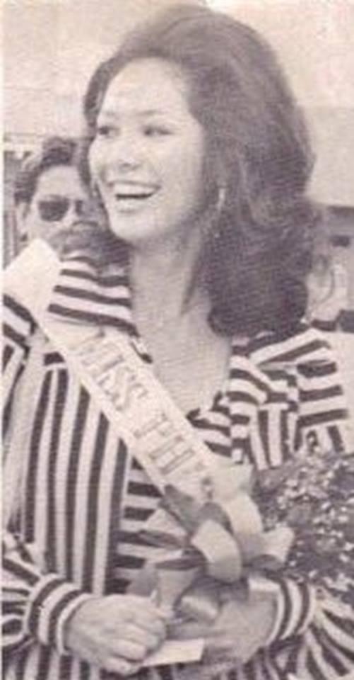 """Bb Pilipinas Universe 1975: Rosemarie """"Chiqui"""" Brosas (MU 75' 4th Runner Up) 16995911"""