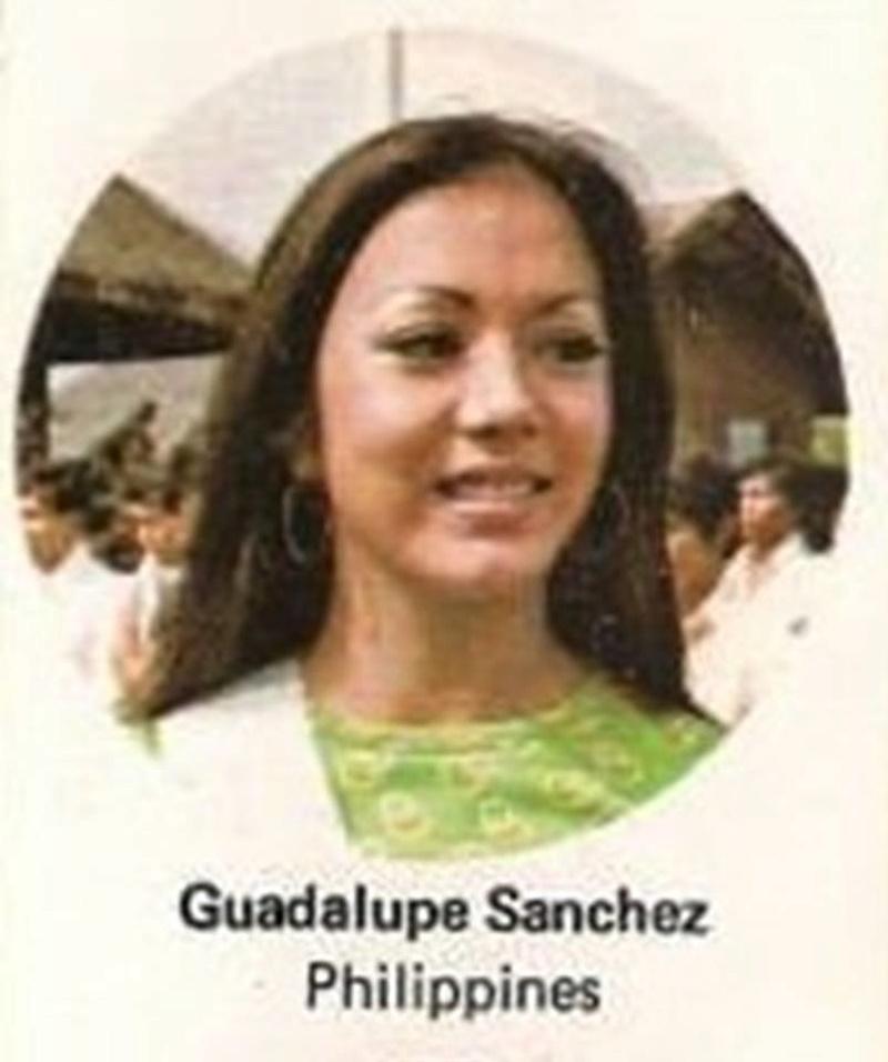 Bb Pilipinas Universe 1974: Guadalupe Sanchez (MU 74' Semifinalist) 16996016