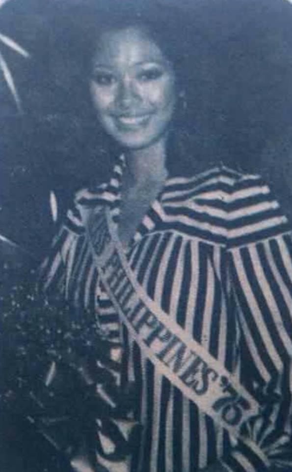"""Bb Pilipinas Universe 1975: Rosemarie """"Chiqui"""" Brosas (MU 75' 4th Runner Up) 16996312"""