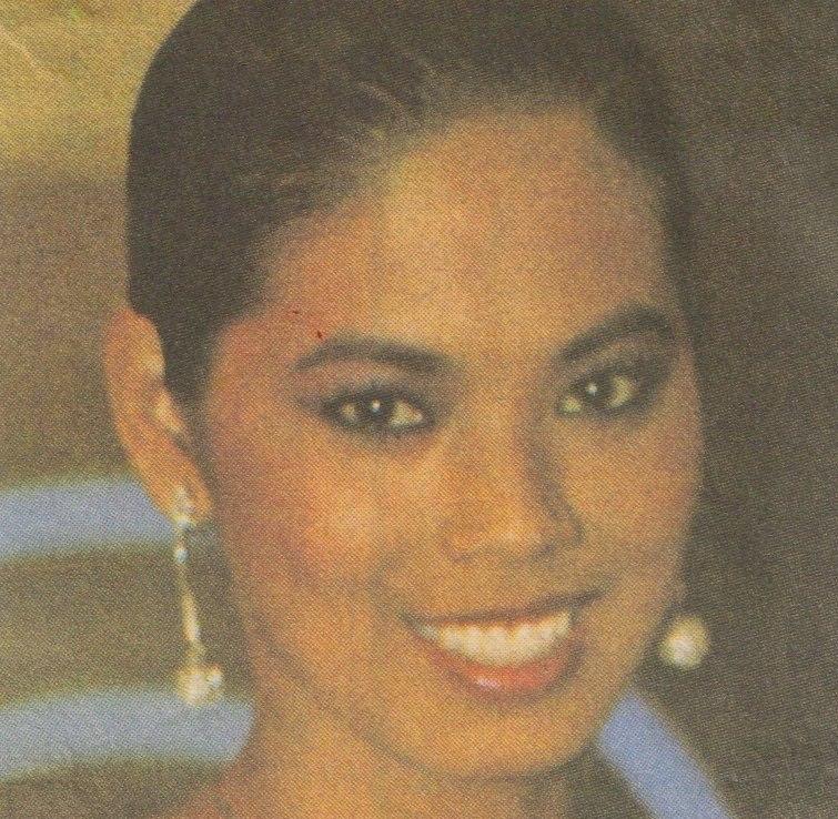 Bb Pilipinas Universe 1984: Desiree Verdadero  (Miss U84 3rd runner up) 16997819