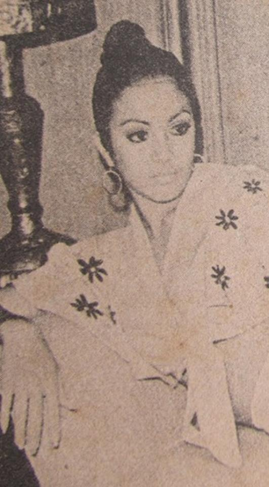 Bb Pilipinas Universe 1974: Guadalupe Sanchez (MU 74' Semifinalist) 16997913