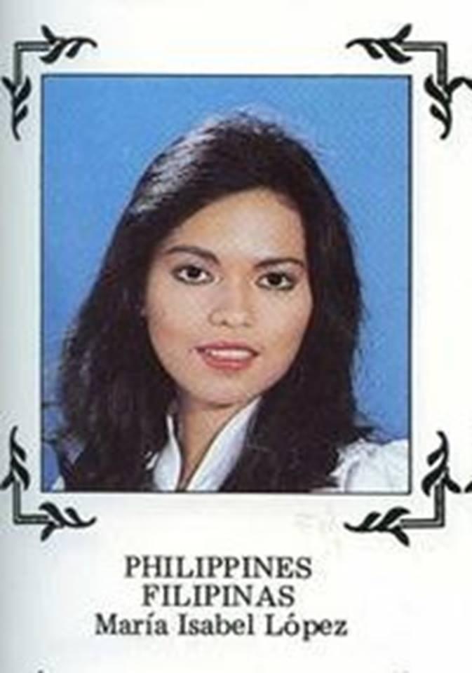 Bb Pilipinas - Universe 1982: Maria Isabel Lopez  16997915