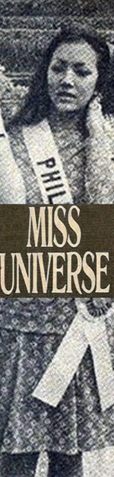 Bb Pilipinas Universe 1974: Guadalupe Sanchez (MU 74' Semifinalist) 16998013