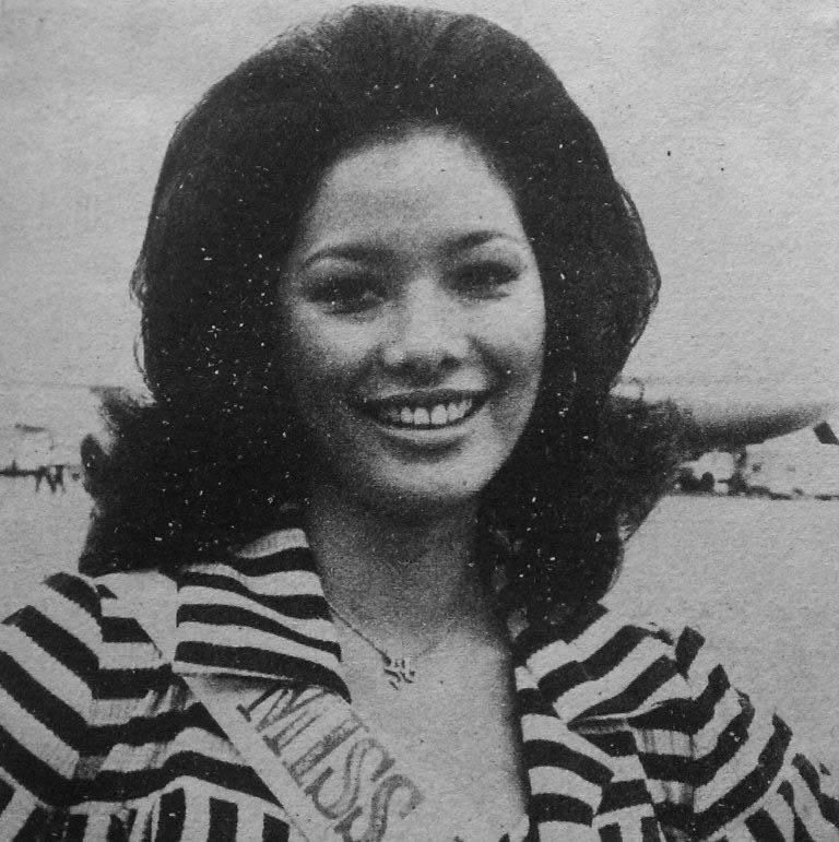 """Bb Pilipinas Universe 1975: Rosemarie """"Chiqui"""" Brosas (MU 75' 4th Runner Up) 16998113"""