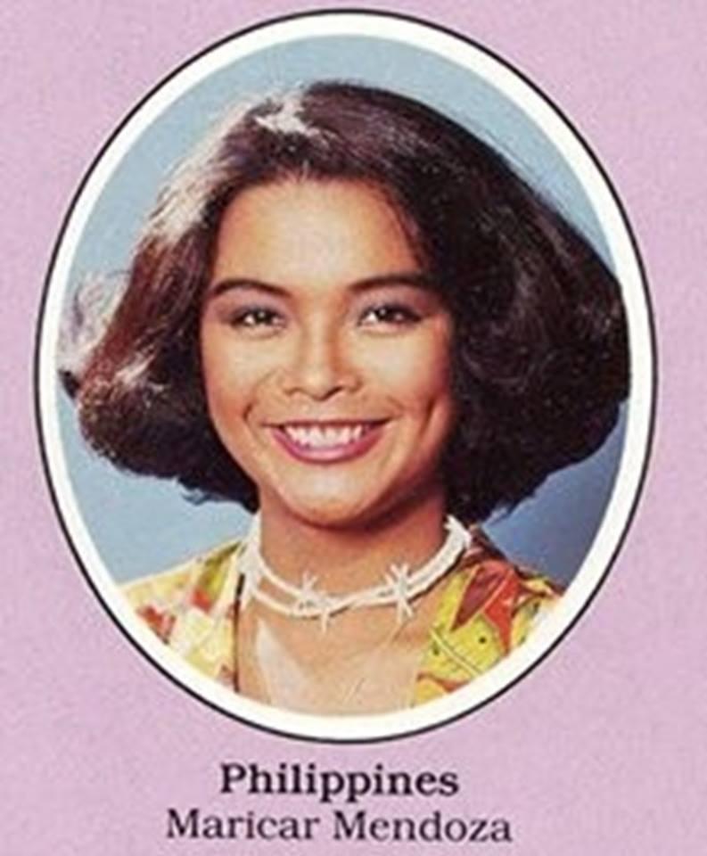 "Bb Pilipinas - Universe 1981: Maria Caroline ""Maricar"" Mendoza   16998815"