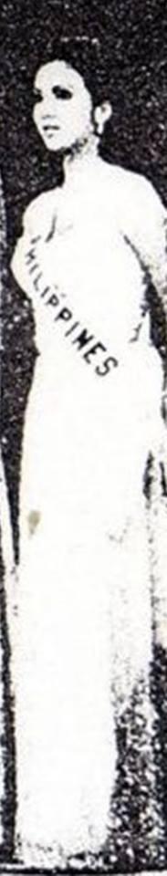 Bb Pilipinas Universe 1974: Guadalupe Sanchez (MU 74' Semifinalist) 16998911