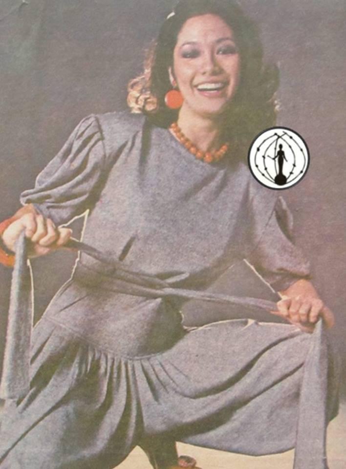 """Bb Pilipinas Universe 1975: Rosemarie """"Chiqui"""" Brosas (MU 75' 4th Runner Up) 16998912"""