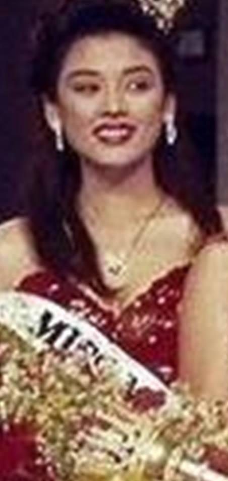 """Bb Pilipinas - Universe 1991: Maria Lourdes """"Alou"""" Gonzalez  (Assumed the title!) 16999116"""