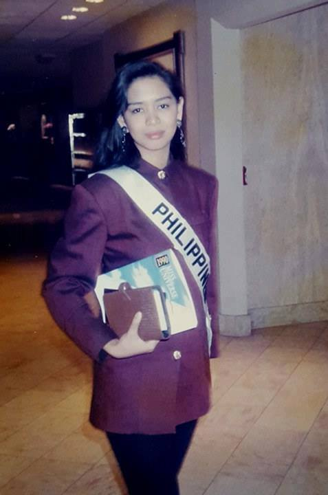 Bb Pilipinas - Universe 1990: Germelina Leah Padilla  17021912