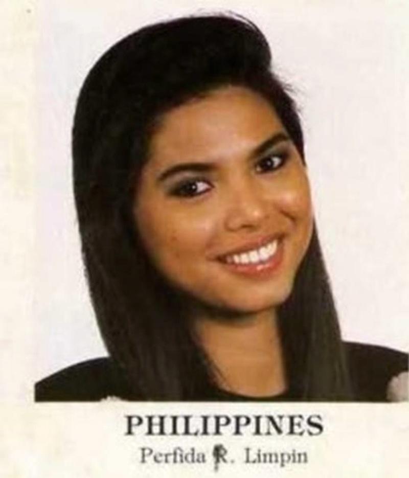 Bb Pilipinas Universe 1988: Perfida Reyes Limpin  17022011
