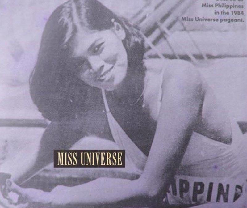 Bb Pilipinas Universe 1984: Desiree Verdadero  (Miss U84 3rd runner up) 17097510