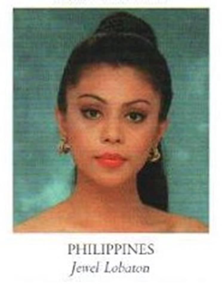 Bb Pilipinas Universe 1998: Jewel Lobaton  17155410