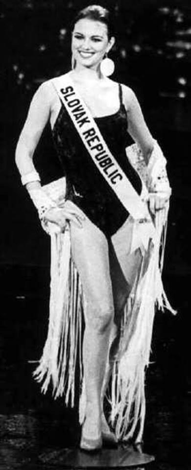 Miss Slovak Republic 1994: Silvia Lakatošová (Top 6 Finalist MU 94') 18010010