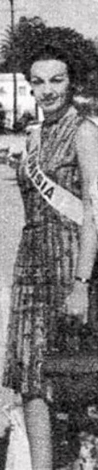 Miss Tunisia 1964: Claudine Younes 20228710