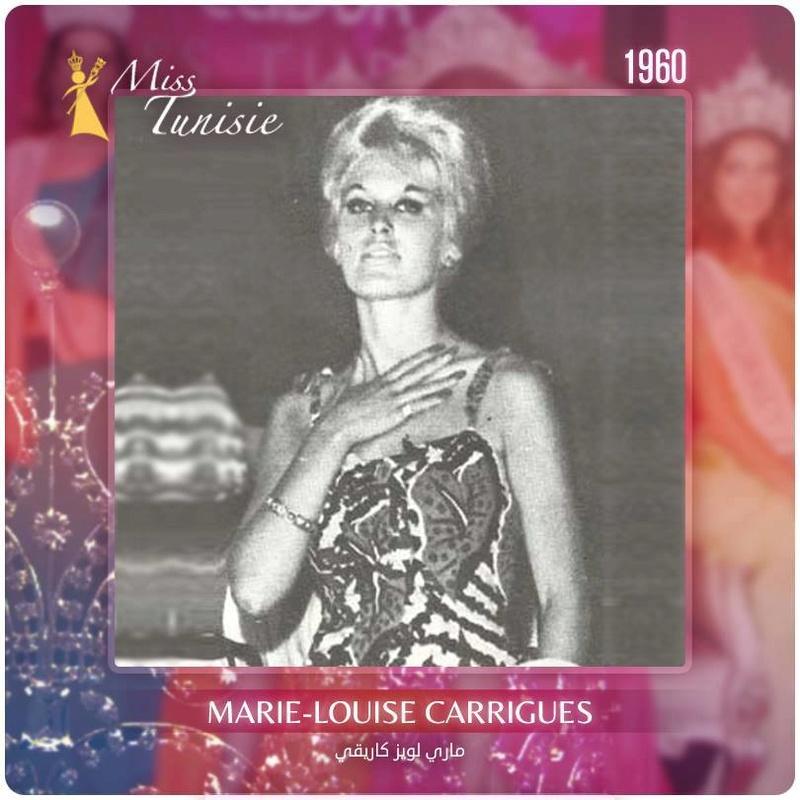 Miss Tunisia 1960: Marie Lousie Garriges 20245410