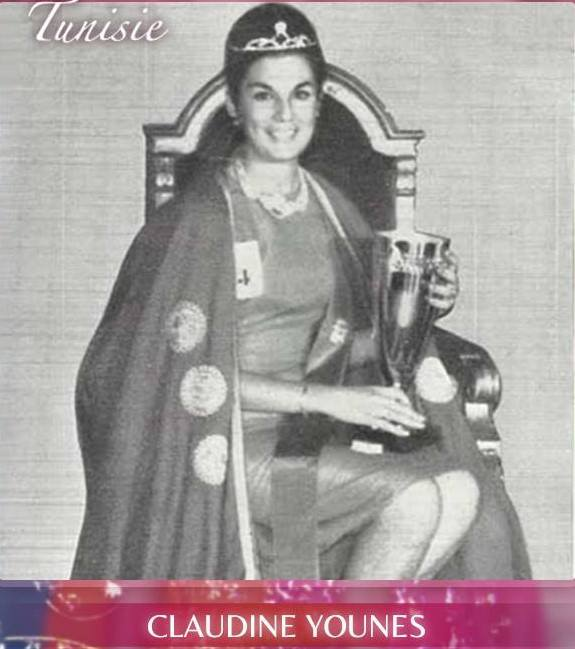 Miss Tunisia 1964: Claudine Younes 20264610
