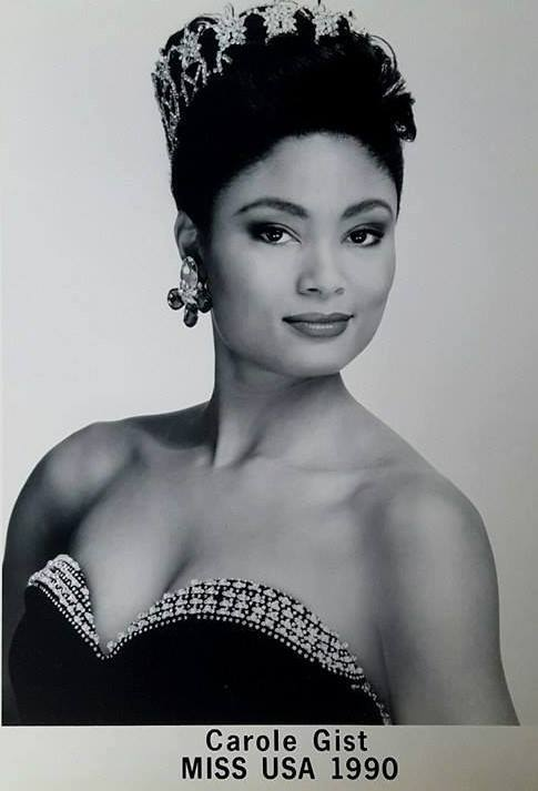 Miss U.S.A.1990 - Carol Anne Marie Gist (1st Runner Up MU90) from Michigan 20476038