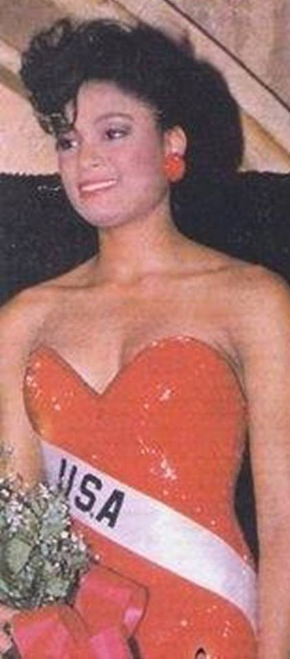 Miss U.S.A.1990 - Carol Anne Marie Gist (1st Runner Up MU90) from Michigan 20476147