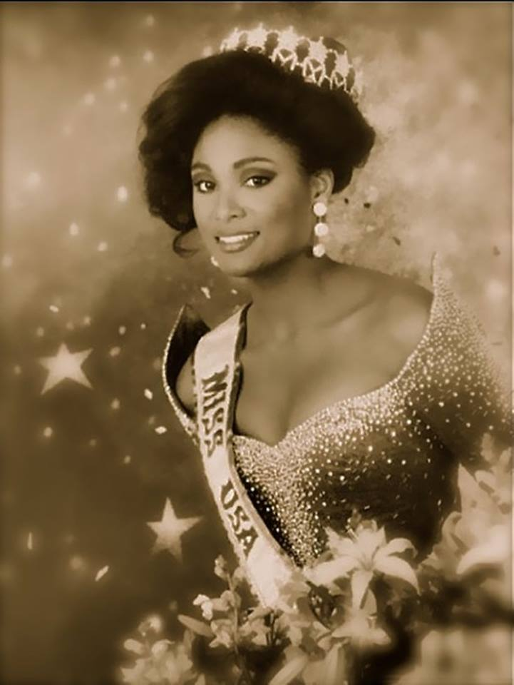 Miss U.S.A.1990 - Carol Anne Marie Gist (1st Runner Up MU90) from Michigan 20476340