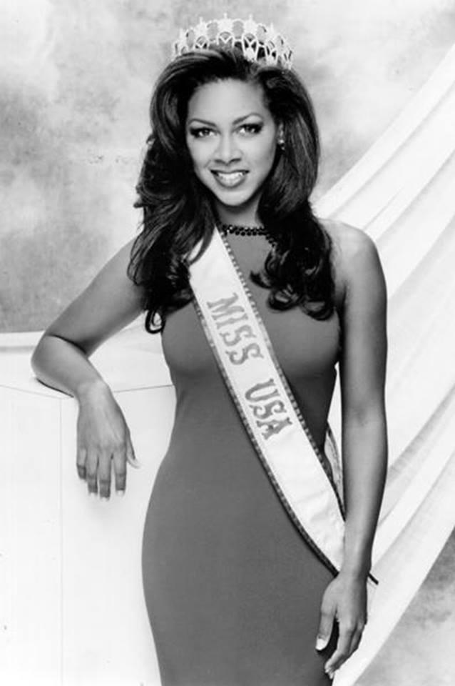 Miss USA 1993: Kenya Summer Moore (Finalist - Top 6 MU93) from Michigan 20476437