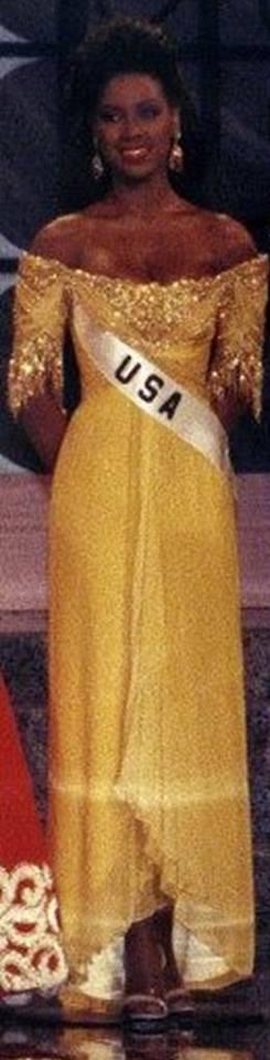 Miss USA 1993: Kenya Summer Moore (Finalist - Top 6 MU93) from Michigan 20476620