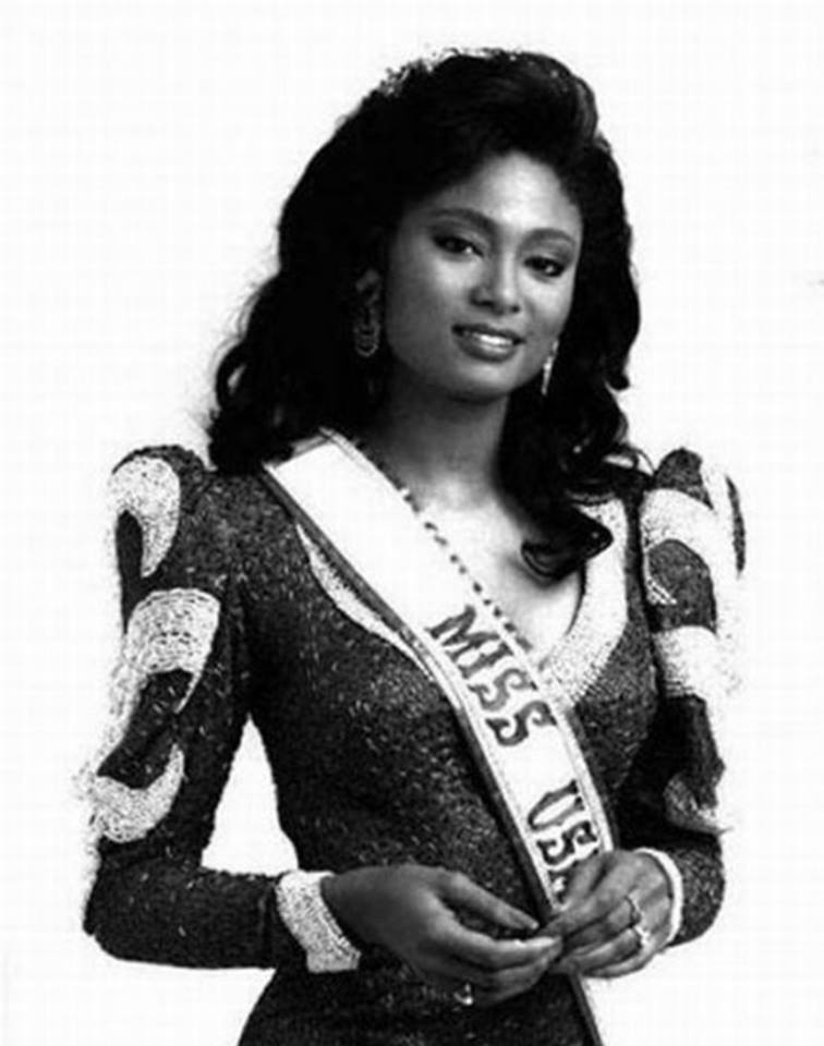 Miss U.S.A.1990 - Carol Anne Marie Gist (1st Runner Up MU90) from Michigan 20479537