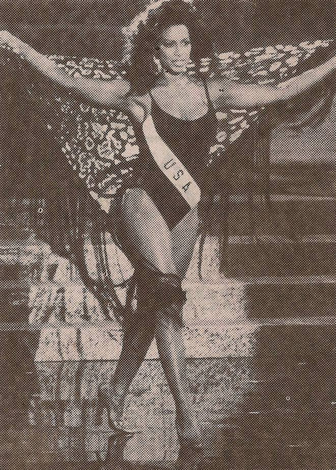 Miss USA 1993: Kenya Summer Moore (Finalist - Top 6 MU93) from Michigan 20479739